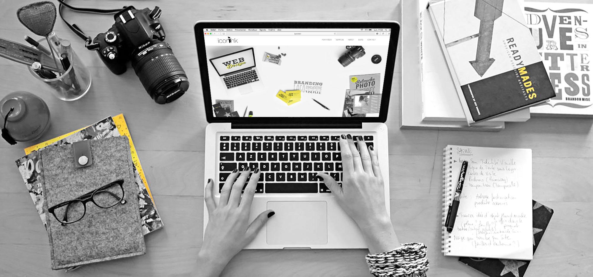 Iconink - agence de Web Design, Graphisme & Branding