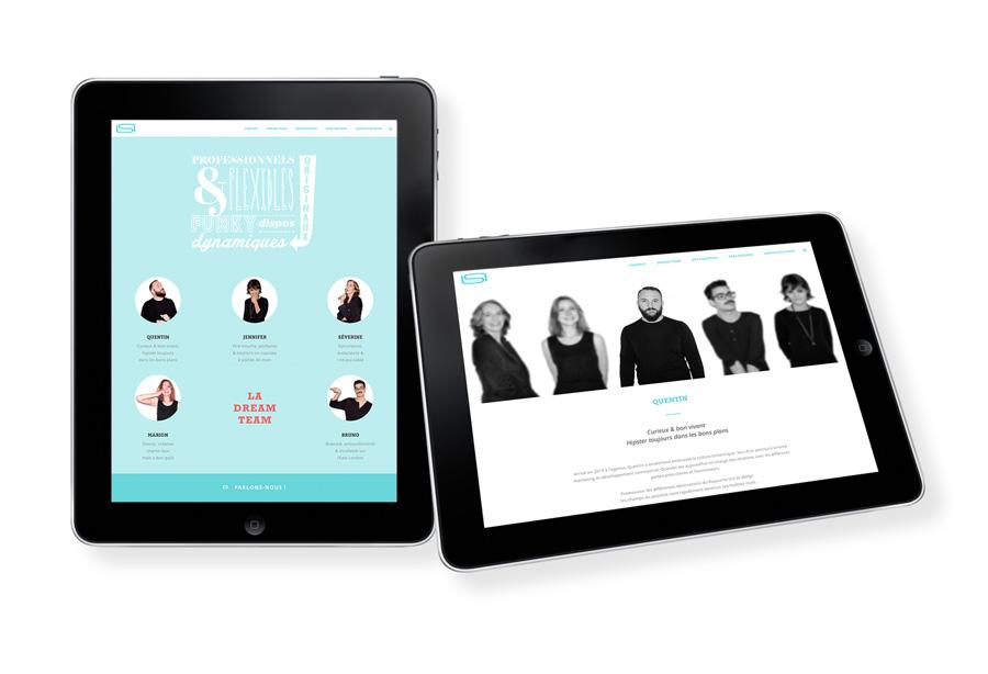 Conception Web - portfolio Iconink