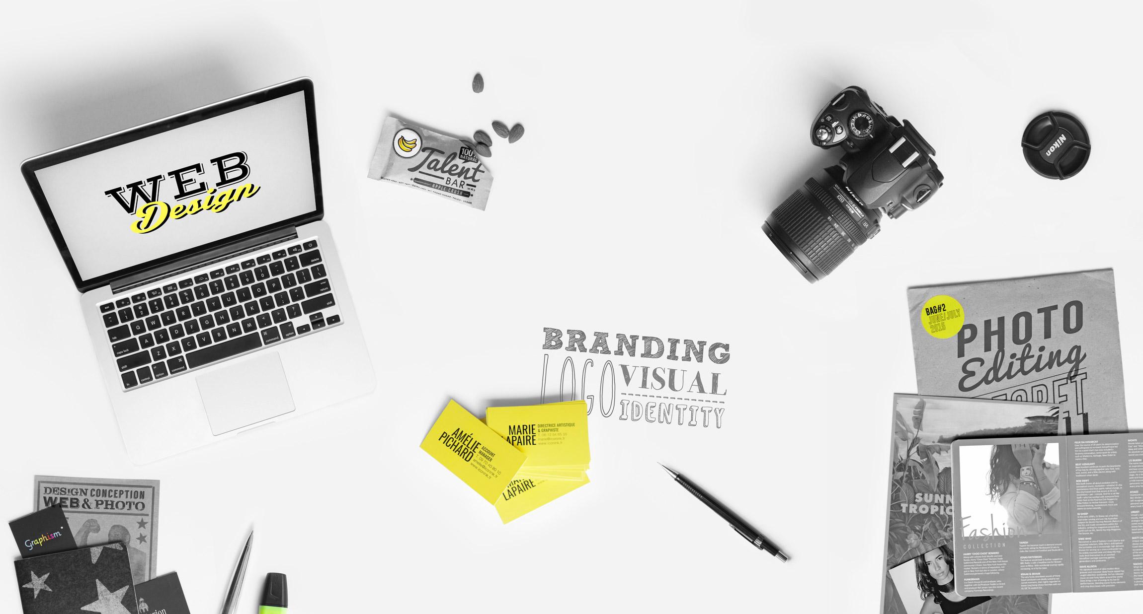 Iconink - Web Design, Graphism & Branding agency
