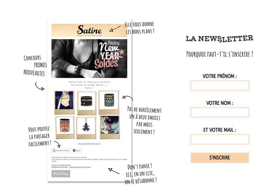 Création Newsletter
