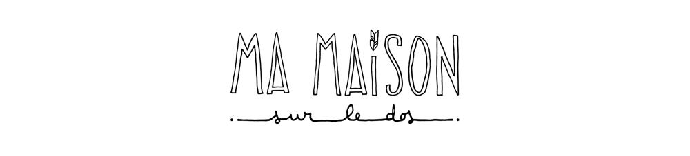 création du logo pour Ma Maison sur le Dos