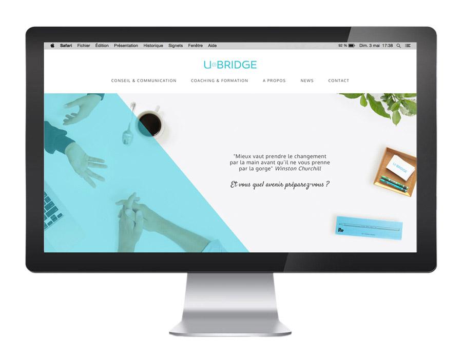 page d'accueil U-Bridge
