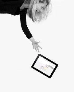 Web Design Marine Mirguet par Iconink