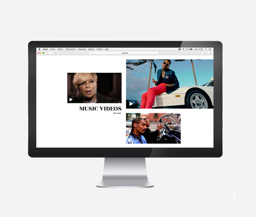création de site web - Tom Marvel