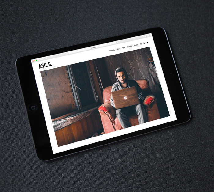 création site web - Anil B