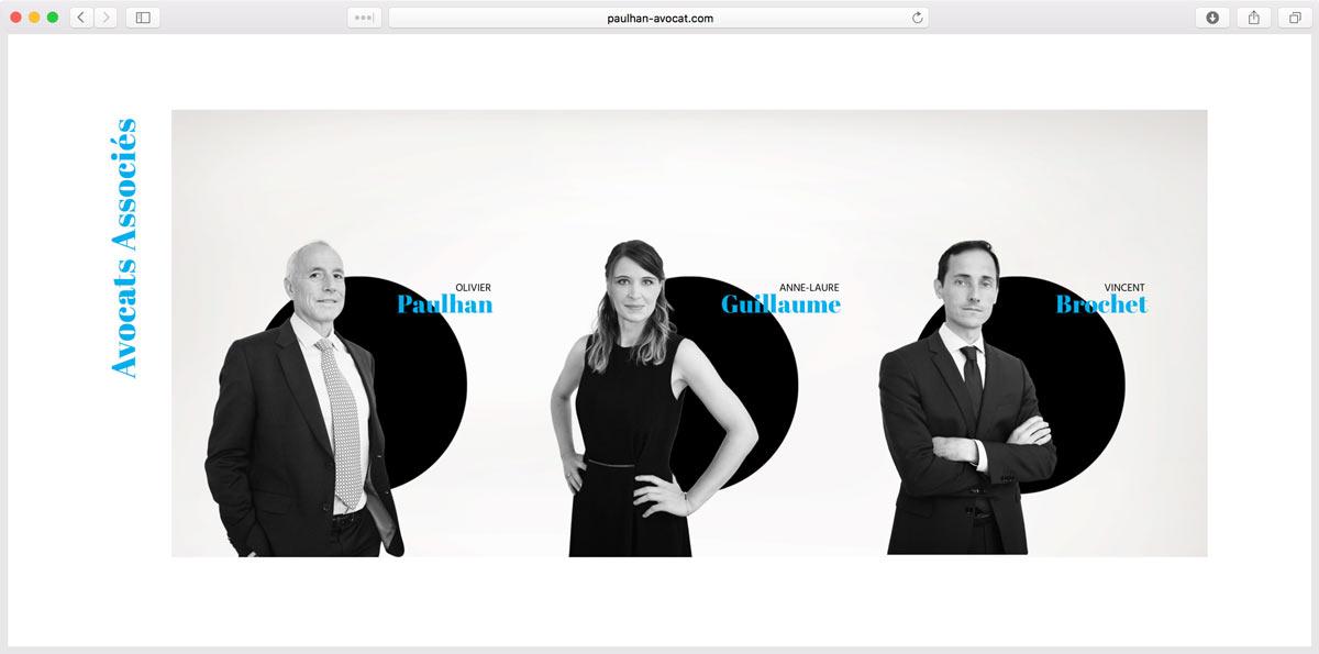 Shooting Photo pour Site Web pour Cabinet d'Avocats