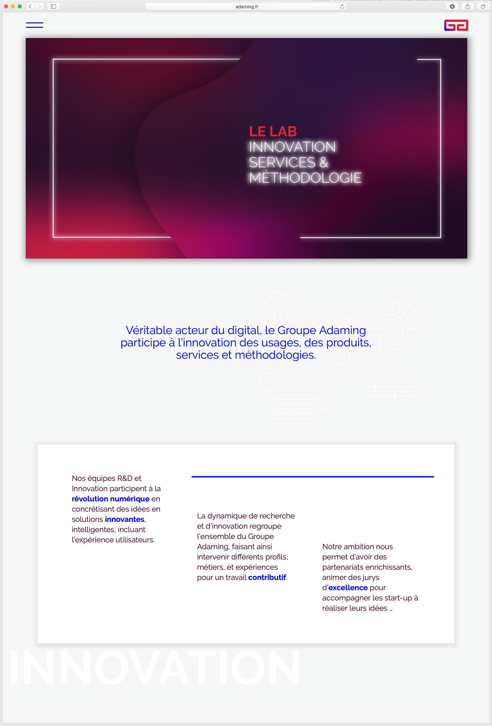 Création de Site Web pour Agence de Recrutement & Incubateur de Talents