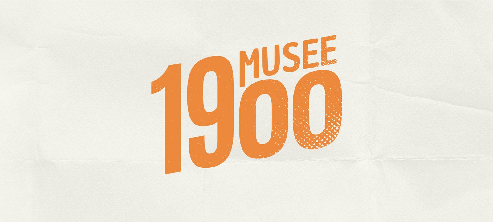 Création de logo pour le Musée 1900 - Création de Site Web