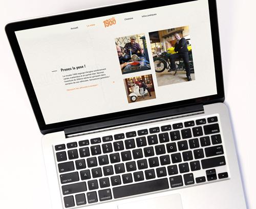 Création de Site Web pour le musée 1900