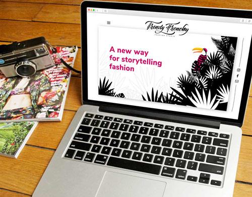 Création de Site Web pour Agence de Mode